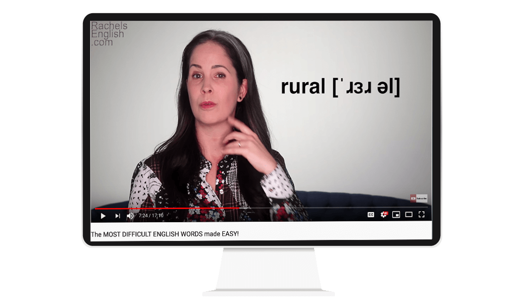 Uno de los mejores Canales de Youtube para aprender inglés: Rachel's English