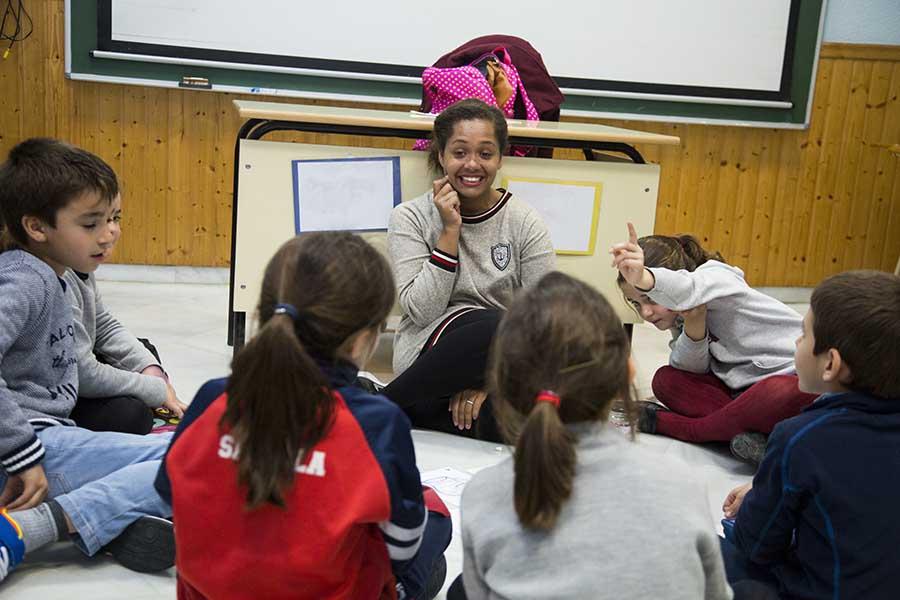 Cursos de Niños en Centro Norteamericano